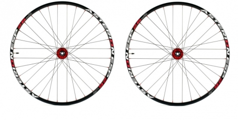 ASTERION Wheelset ESP 26'' 15 mm / 12x142mm Black