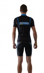 alltricks by northwave maillot manches courtes pro tricks race noir m