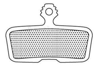 BRAKE AUTHORITY Paire de Plaquettes pour AVID Code (à partir de 2011) - Ceramic