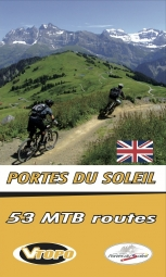 VTOPO VTT Portes du Soleil English Book