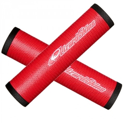 lizard skins dsp paire de grip 30 3mm rouge