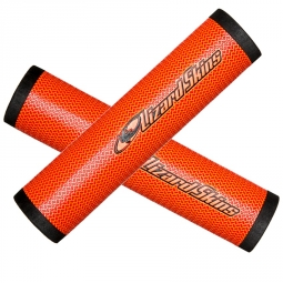 LIZARD SKINS DSP Pair of Grips 30.3mm Orange
