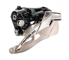 SRAM X0 Front derailleur 2x10V 31.8/34.9mm Low Clamp/Top Pull