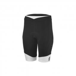 Cuissard shorts w s endurance black white