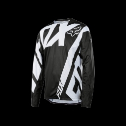 Maillot de vtt fox demo jersey black l