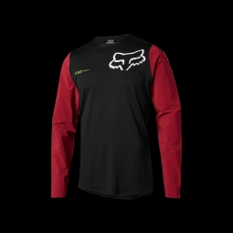 Maillot de vtt fox attack pro red black m
