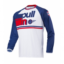 Maillot vtt pull in race 2 navy white xl
