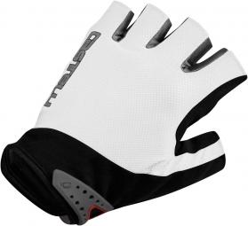 castelli paire de gants s uno glove blanc xxl