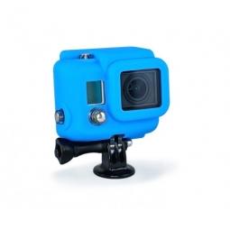 xsories protection silicone pour hero 3 bleu