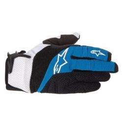 ALPINESTARS Paire de gants MOAB 712 Noir Bleu
