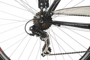 VTC KS Cycling Vegas 700mm Shimano Tourney 7V Noir