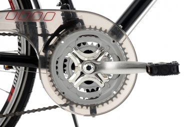 VTC KS Cycling Vegas 700mm Shimano Tourney 7V Guidon Multiposition Noir