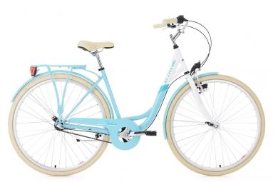 Velo de ville femme ks cycling belluno 700mm shimano nexus 3v bleu 48 cm 167 176 cm
