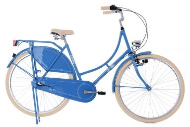 Velo de ville femme ks cycling tussaud 700mm shimano nexus 3v bleu 53 cm 160 175 cm
