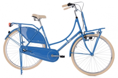 Velo de ville ks cycling tussaud 700mm shimano nexus 3v porte bagage avant bleu 53 c