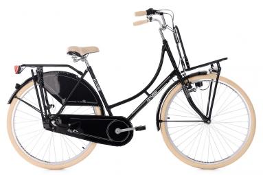 Velo de ville ks cycling tussaud 700mm shimano nexus 3v porte bagage avant noir 53 c