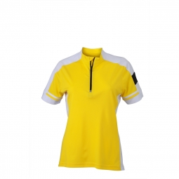 James et nicholson maillot cycliste femme jn451 jaune s