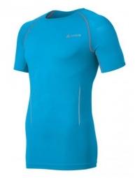odlo maillot running seamless race manches courtes bleu l