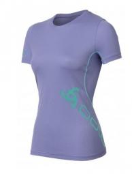 odlo t shirt running event ii bleu iris m