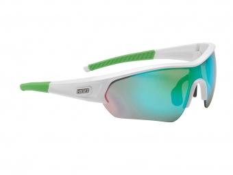 Bbb paire de lunettes select blanc vert