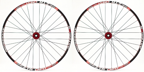 ASTERION Wheelset ACCESSIUM XC 29'' 15mm Red