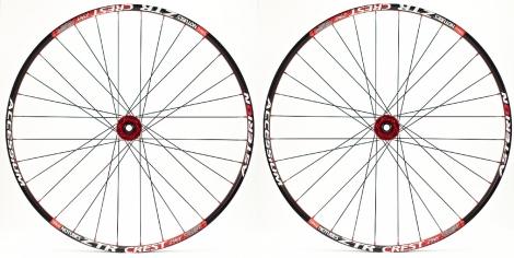 ASTERION Paire de roues ACCESSIUM XC 29´´ 15mm Rouge
