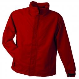 Veste hiver coupe vent impermeable homme jn1010 rouge