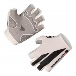 Endura paire de gants courts fs 260 blanc m