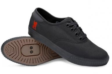 CHROME Paire de Chaussures TRUK Pro SPD Noir