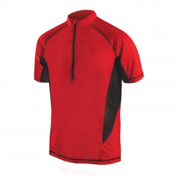 Endura maillot manches courtes cairn rouge s