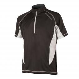 Endura maillot manches courtes cairn noir s