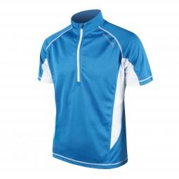 endura maillot manches courtes cairn bleu s