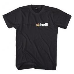 CINELLI Tee Shirt SUPERCORSA Noir