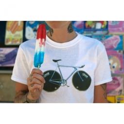 cinelli tee shirt laser blanc m