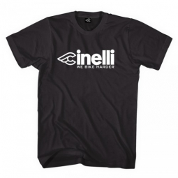 cinelli tee shirt harder noir s