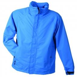 Veste hiver coupe vent impermeable homme jn1010 azur bleu