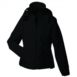 Veste hiver coupe vent impermeable femme jn1011 noir