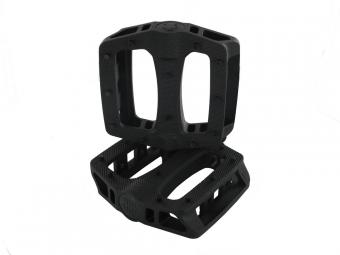 blb paire de pedales en plastique t rex noir