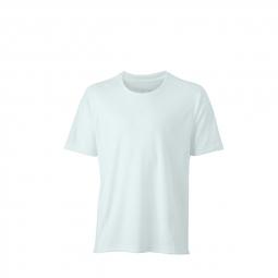 James et nicholsont shirt respirant running jogging jn472 blanc homme course a pied