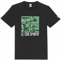 LE COQ SPORTIF T-Shirt Tour de France N°12 Noir