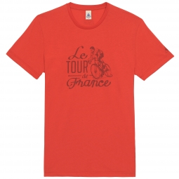 le coq sportif t shirt tour de france n 10 rouge xl
