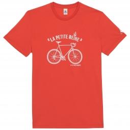 le coq sportif t shirt tour de france la petite reine rouge xl