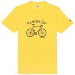 le coq sportif t shirt tour de france n 9 la petite reine jaune l