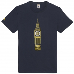 LE COQ SPORTIF 2014 T-Shirt Tour de France BIG BEN Blue