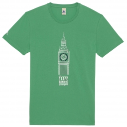 le coq sportif t shirt tour de france big ben vert l
