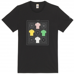 LE COQ SPORTIF T-Shirt Tour de France N°11 Noir