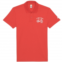 le coq sportif polo tour de france rouge l