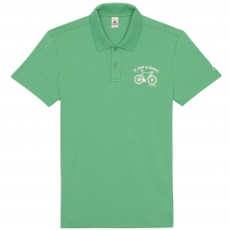 le coq sportif polo tour de france vert xl