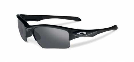 oakley paire de lunettes quarter jacket polished noir iridium ref 009200 01