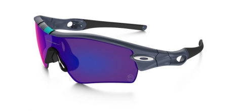OAKLEY Lunettes RADAR PATH Fog Red Iridium Réf 26-266